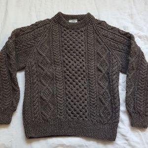 Blarney Mills Mens Hand Knit Fisherman Sweater